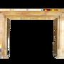Decorative objects - Antique French Limestone Fireplace Surround  - MAISON LEON VAN DEN BOGAERT ANTIQUE FIREPLACES AND RECLAIMED DECORATIVE ELEMENTS