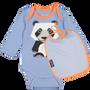 Accessoires pour puériculture - Set Body + Bavoir Panda - COQ EN PATE