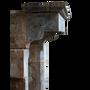 Pièces uniques - Grande Cheminée Antique Style Château Français - MAISON LEON VAN DEN BOGAERT ANTIQUE FIREPLACES AND RECLAIMED DECORATIVE ELEMENTS