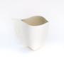 Objets design - Vase VING II en biscuit de porcelaine H=12cm, D=11cm - YLVAYA DESIGN