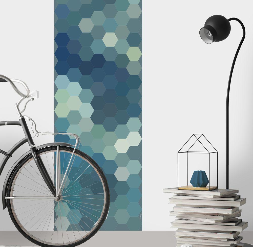 Tapisserie Carreaux De Ciment papier peint carreaux de ciment - perrine - tapisseries
